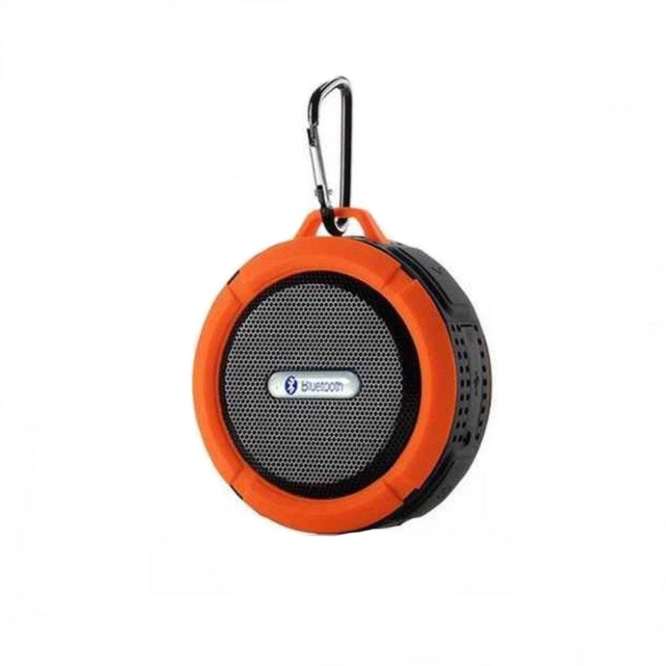 Портативная водонепроницаемая Bluetooth колонка C6 с присоской