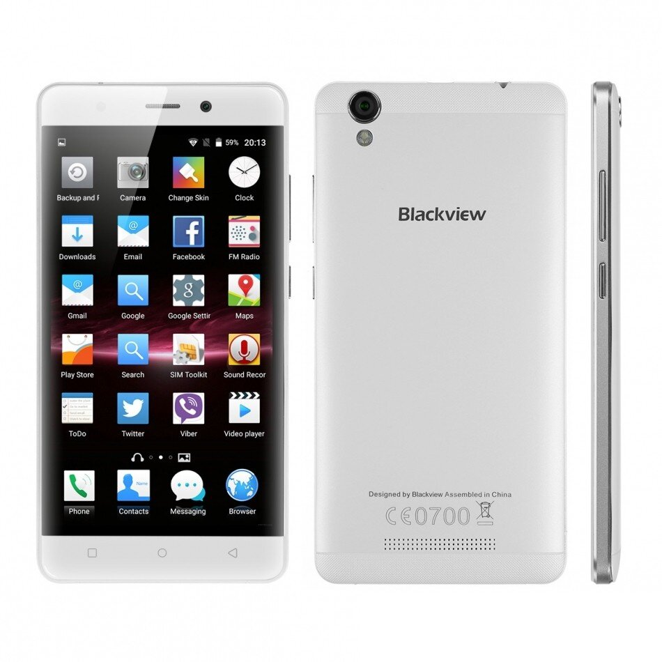 Смартфон Blackview A8 Белый (3)