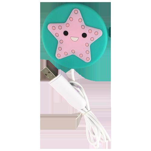 Беспроводная зарядка   присоска (Звезда)
