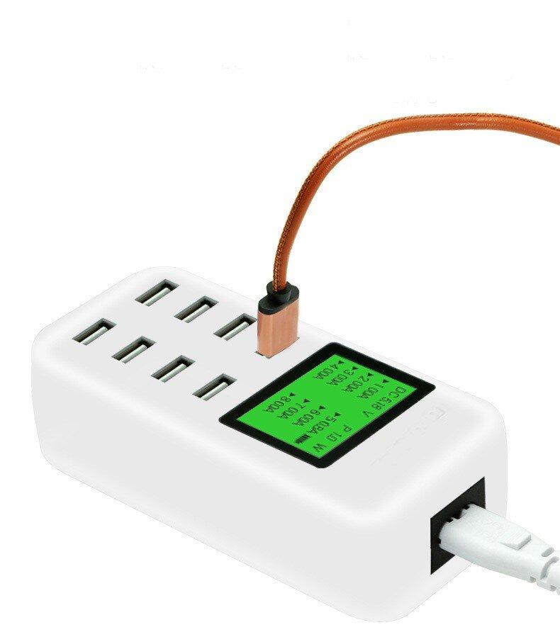 Зарядное устройство на 8 портов USB