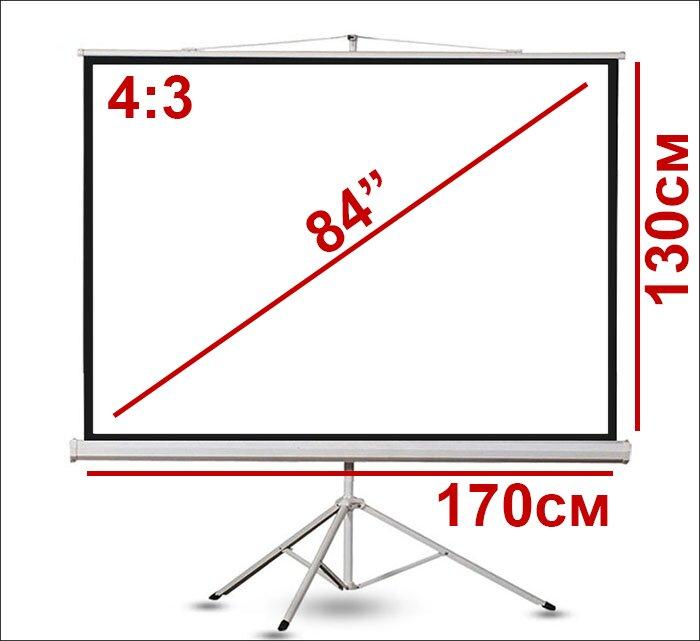 Экран для проектора 84