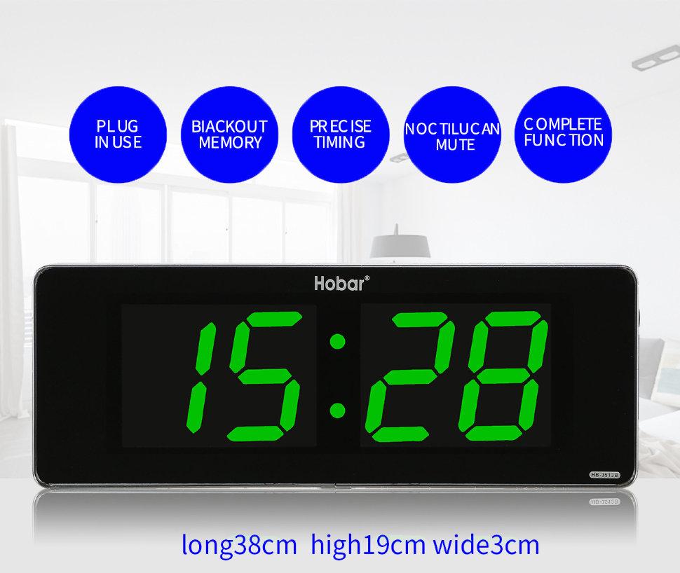 Часы настенные Hobar (Зеленый)