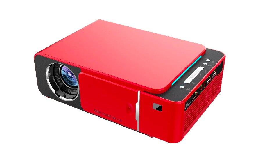 Проектор Touyinger T6A + Wi Fi (Красный)
